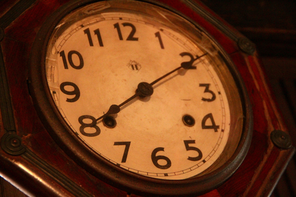 白秋生家 時計