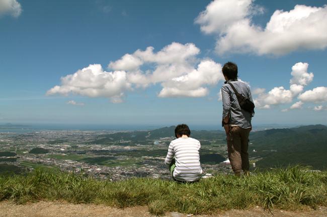 若杉山 山頂