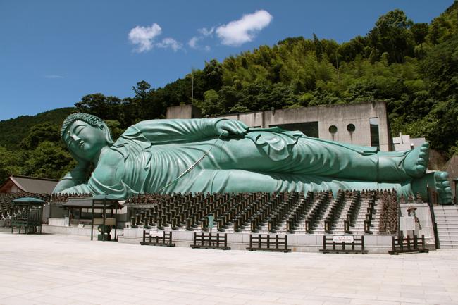 南蔵院 涅槃像