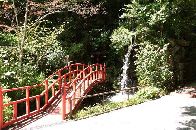 南蔵院 滝