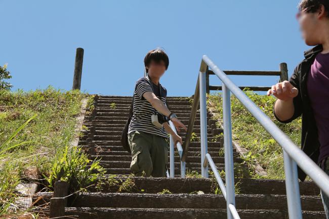 階段 高所恐怖症
