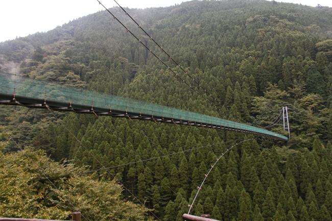 杣の里 吊り橋