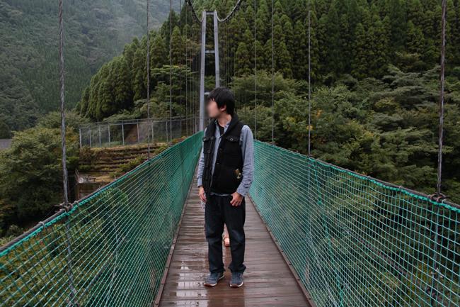 杣の里 大吊り橋