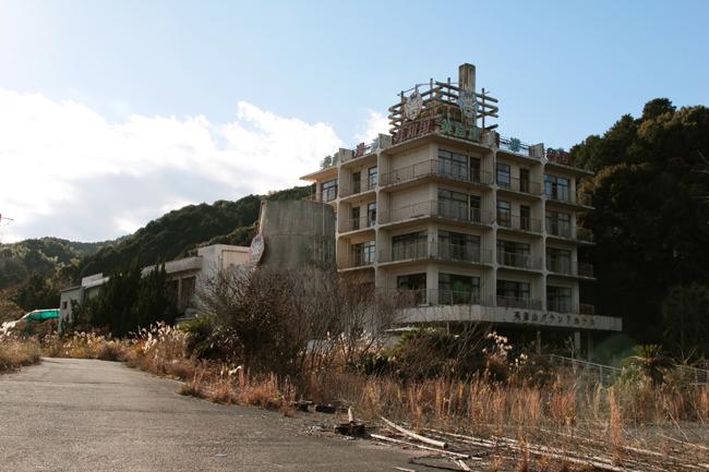英彦山湯〜遊〜共和国 廃墟