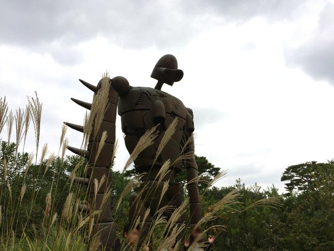 三鷹の森 ジブリ美術館 ロボット兵