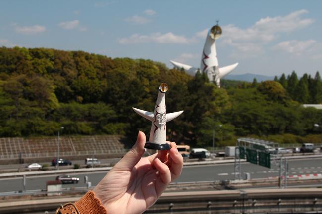 岡本太郎 ガチャ 太陽の塔