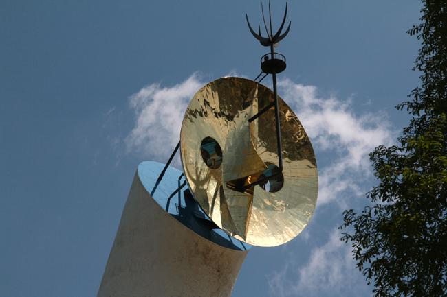 太陽の塔 顔