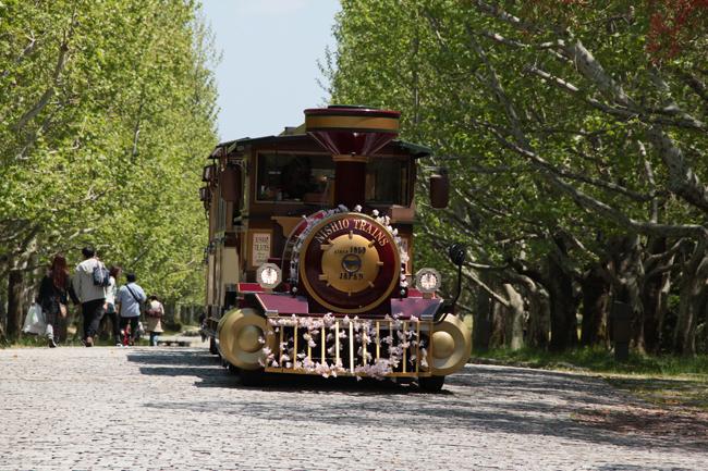 万博公園 園内電車