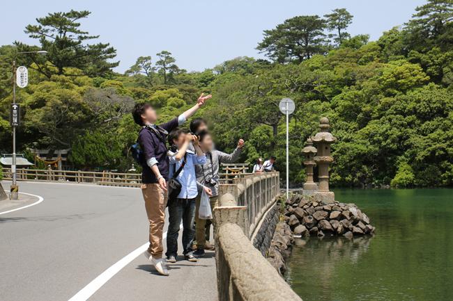 萩 明神池