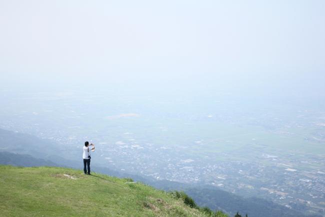 ハンググライダー発進基地 鷹取山