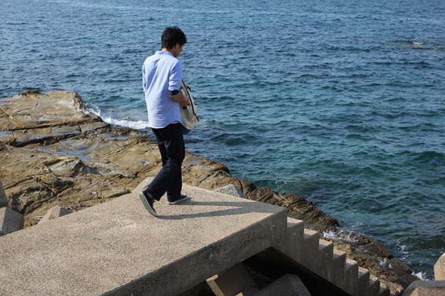 伊王島 岩場
