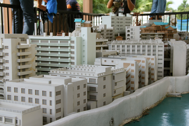 軍艦島 高島 模型