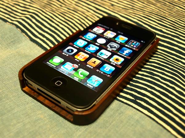 iphoneカバー 木製