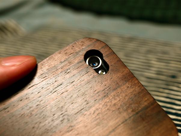 木製カバー iphone
