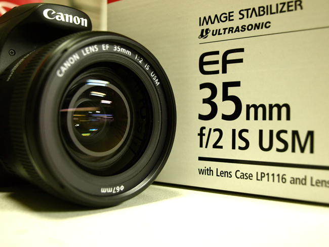 EF35mm F2 IS USM