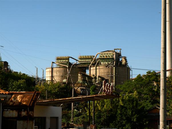 山口 工場地帯