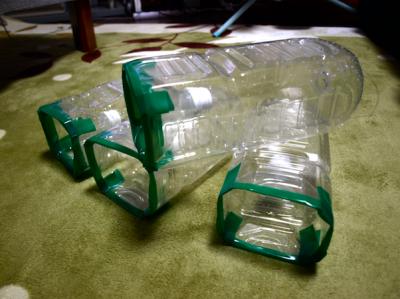 川魚 ペットボトル ワナ