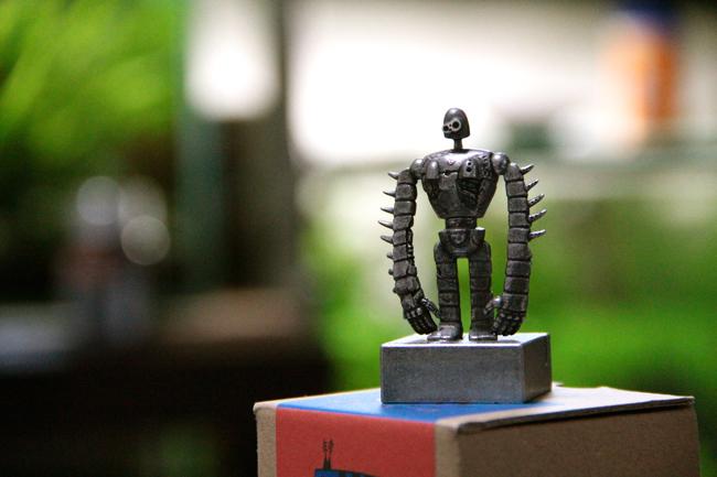 ラピュタ ロボット フィギュア メモスタンド