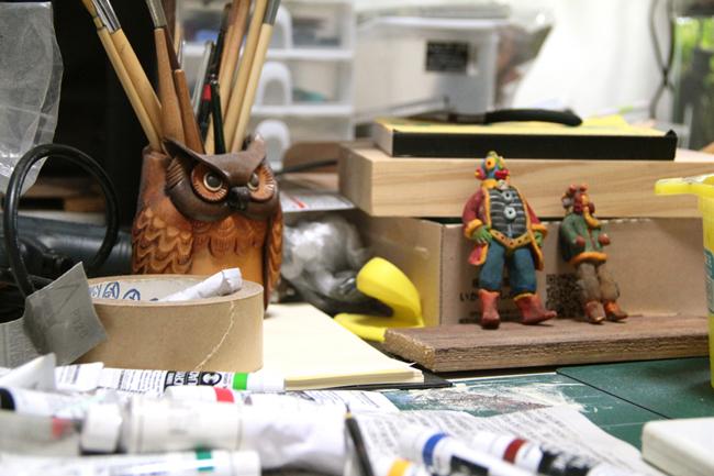 人形作り フィギュア 石塑粘土