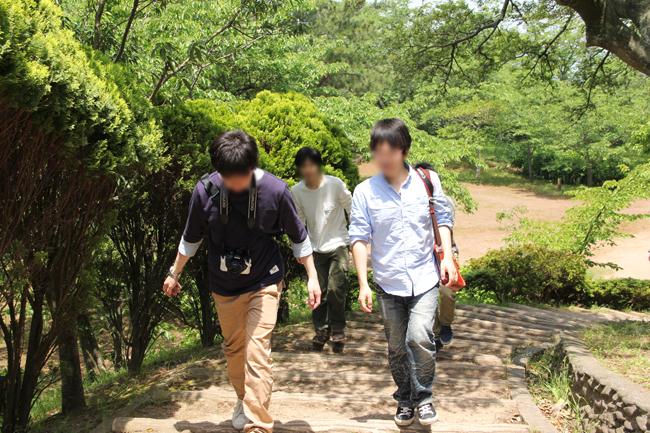 萩 笠山 展望台