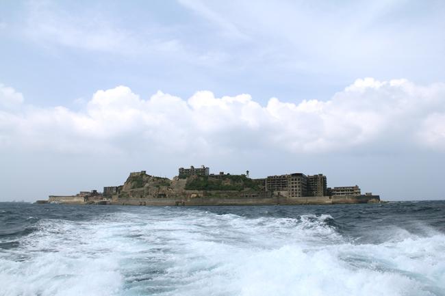 軍艦島 上陸