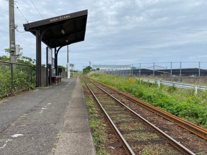 西大山駅 最南端の駅
