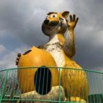 【佐賀ドライブ】ノスタルジックな遊園地「森とリスの遊園地 メルヘン村」