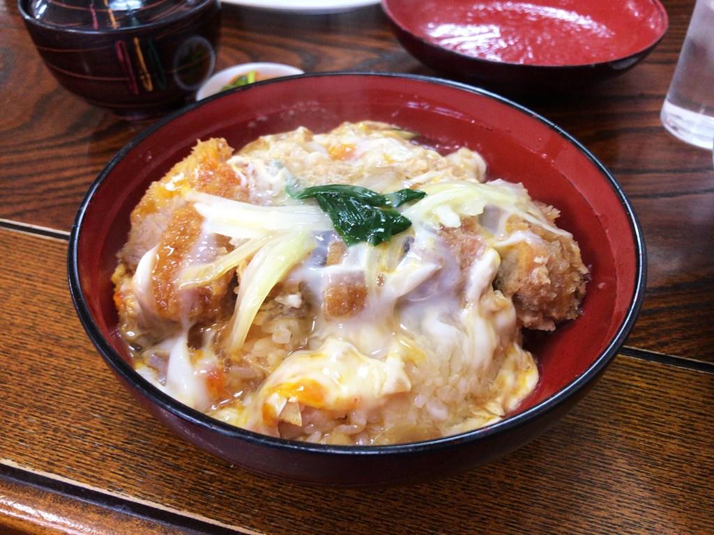 井手ちゃんぽん本店 カツ丼