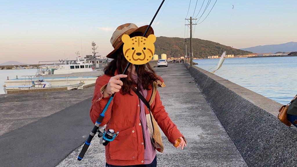 唐房漁港 サビキ
