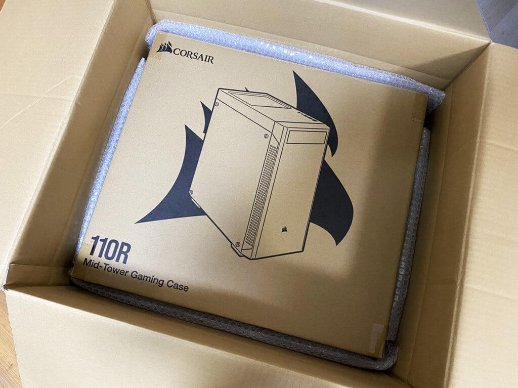 BTOパソコン 梱包