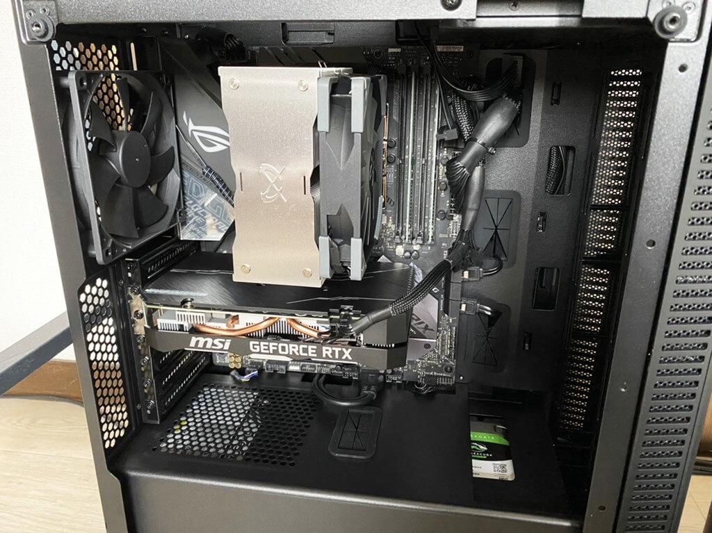 BTOパソコン 開封